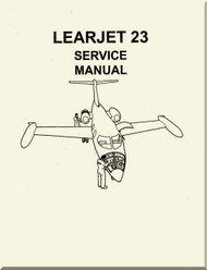 Learjet 23 Series Aircraft Service Manual