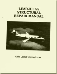 Learjet 55  Series Aircraft Structural Repair  Manual