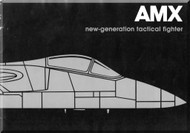 Aeritalia Aermacchi Embrair Aircraft  AMX  Technical Brochure    Manual, ( English Language )