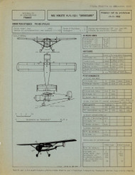 Max Holste Avions M.H. 1521  Aircraft Technical Document  Manual  ( French Language ) ,