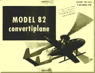 Mc Donnell   Helicopters  Model 82  Convertiplane  Technical Manual Report No. 1920 , 1950