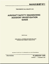 NATOPS U.S.  NAVY  Aircraft Safety Engineering Accident Investigation Guide) - NAVAIR 00-80T-67-1