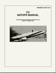 NATOPS U.S.  NAVY  Aircraft  CV   NATOPS Manual  -  NAVAIR 00-80T-105