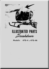 Bell Helicopter 47 G-4 47 G-5A Illustrated Parts Catalog