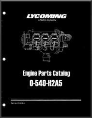 Lycoming O-540- H2A5 Aircraft Engine Parts Manual   PC-515-4