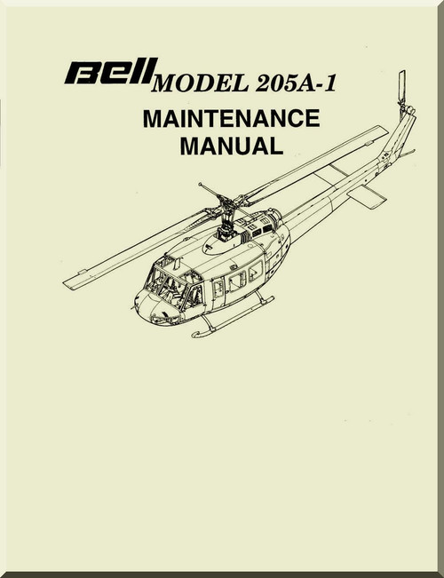 bell helicopter 205 a 1 maintenance manual aircraft reports rh aircraft reports com bell helicopter maintenance manual bell helicopter maintenance manual