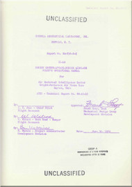 Illushin Il-10   Aircraft Pilot's Operating  Manual  -  1952 -  ( English   Language )