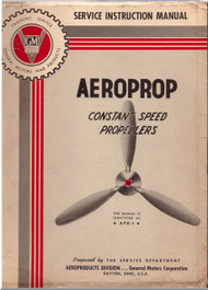Aeroproducts  Constant Speed  Propellers Service Instruction Manual - 1943