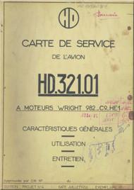 Avions Hurel - Dubois HD.32   Aircraft  Service  Manual