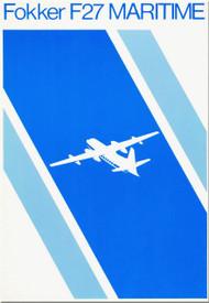 Fokker  F-27  Maritime   Technical Brochure   Manual -