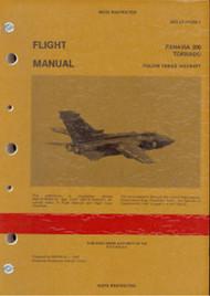 Panavia 200 Tornado Aircraft Flight Manual Italian series  AER 1F-PA200-1 dated 01/01/1990  - 675 pages