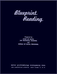 Aircraft Blueprints Reading   NAVY Training Courses Manual  - 1957
