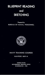 Aircraft Blueprints Reading  and Sketching  NAVY Training Courses Manual  - 1956 - NAVPERS 10077-A