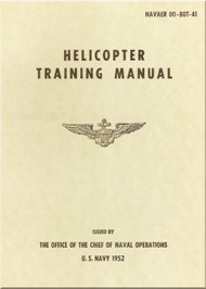 Army Air Forces Attack Helicopter Training Manual  -  NAVAER 00-80T-41  -1951