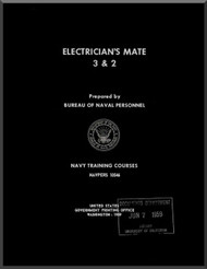 Aircraft Electrician's Mate 3 & 2 NAVY Training Courses Manual  - 1959 - NAVPERS 10546