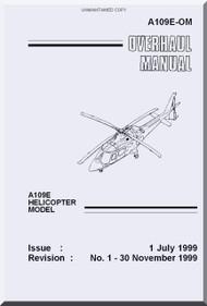 Agusta A.109  E Overhaul  Manual  ( English Language  )