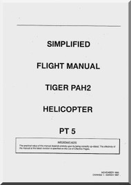 Eurocopter EC 665 Tiger Helicopter Simplifield Flight  Manual - PAH2