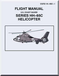 Eurocopter HH-65C  Helicopter Flight Manual ( English Language ) CGTO 1H-65C-1