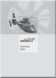 Aerospatiale AS 365 Dauphin 2  Helicopter Data Manual  (English Language )