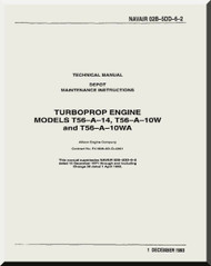 allison t56 a 7b aircraft engine illustrated parts breakdown rh aircraft reports com allison t56 engine manual pdf Allison T56 a 15 Turboprops
