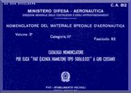 FIAT 5006.0.03T Aircraft Propeller Parts Manual - Elica - Nomencaltore