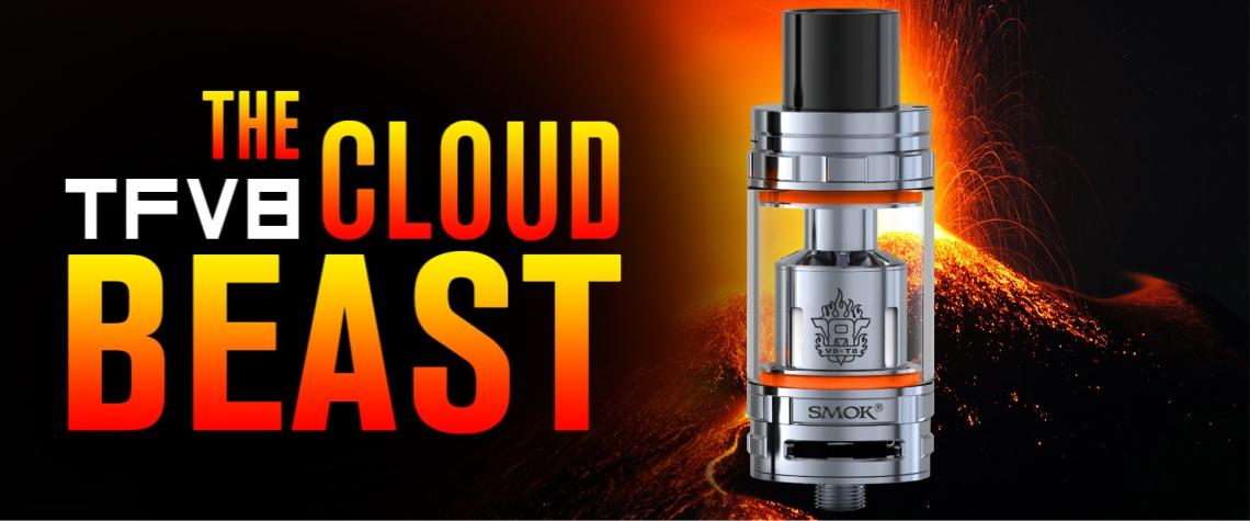 Smok TFV8 cloud beast