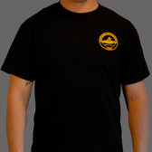 Amphib Recon Black t-shirt with gold logos