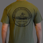 Military Green Uniform t-shirt