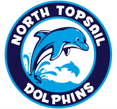 North Topsail Elementary School Dolphins logo
