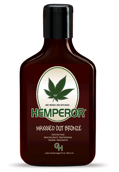 Hemperor Maxxxed Out 70x Bronze Tanning Lotion 9oz