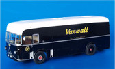 1957 Leyland Royal Tiger Worldmaster Vanwall Team Transporter.  (Built Model)