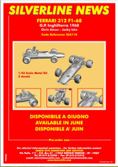 !/43rd Scale Kit  Ferrari 312 F1-68  Silverline