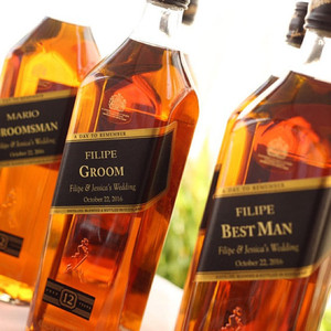 Personalized Whisky Gold Labels (Johnny Walker)