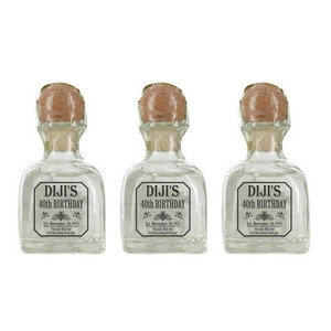 Personalized Mini 50 ml. Tequila Labels (Tequila Patron  Style)