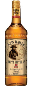 Personalized Captain Morgan Rum Labels (Gold Foil)