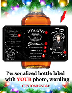 Personalized Whisky  Labels with Photo