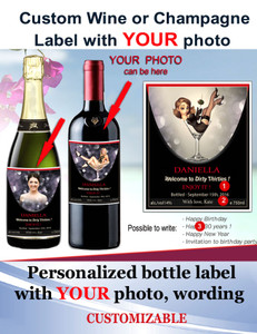 Personalized Champagne/Wine Labels
