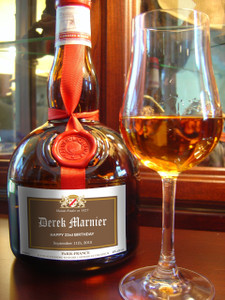 Personalized Liqueur Labels (Grand Marnier Style)