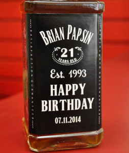 Personalized Whisky Labels (JD Style)