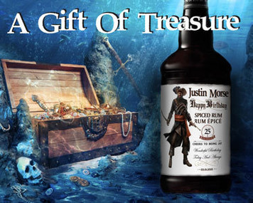Personalized Captain Morgan Spiced Rum Labels