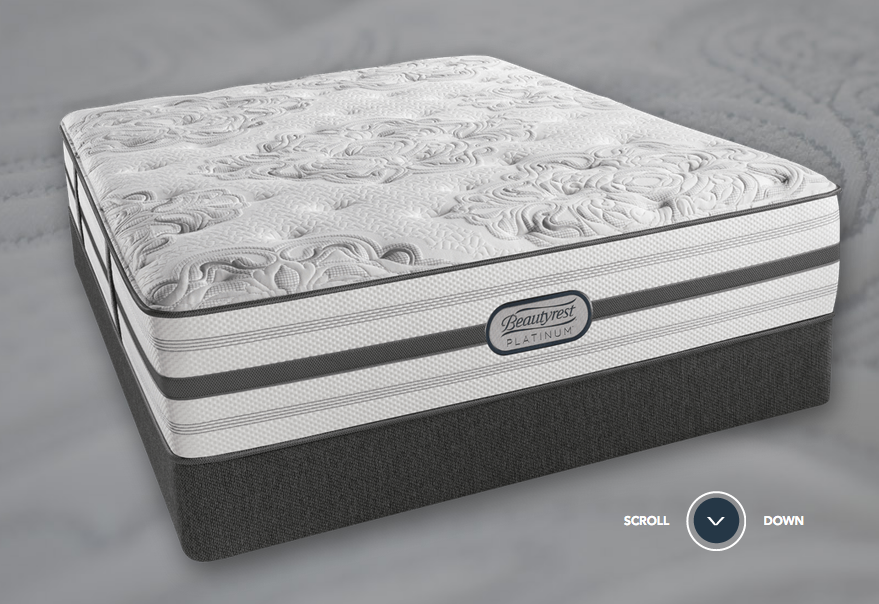 model highlight beautyrest platinum brittany luxury firm mattress if you could name a mattress brand or model that gives you more mattress for your money