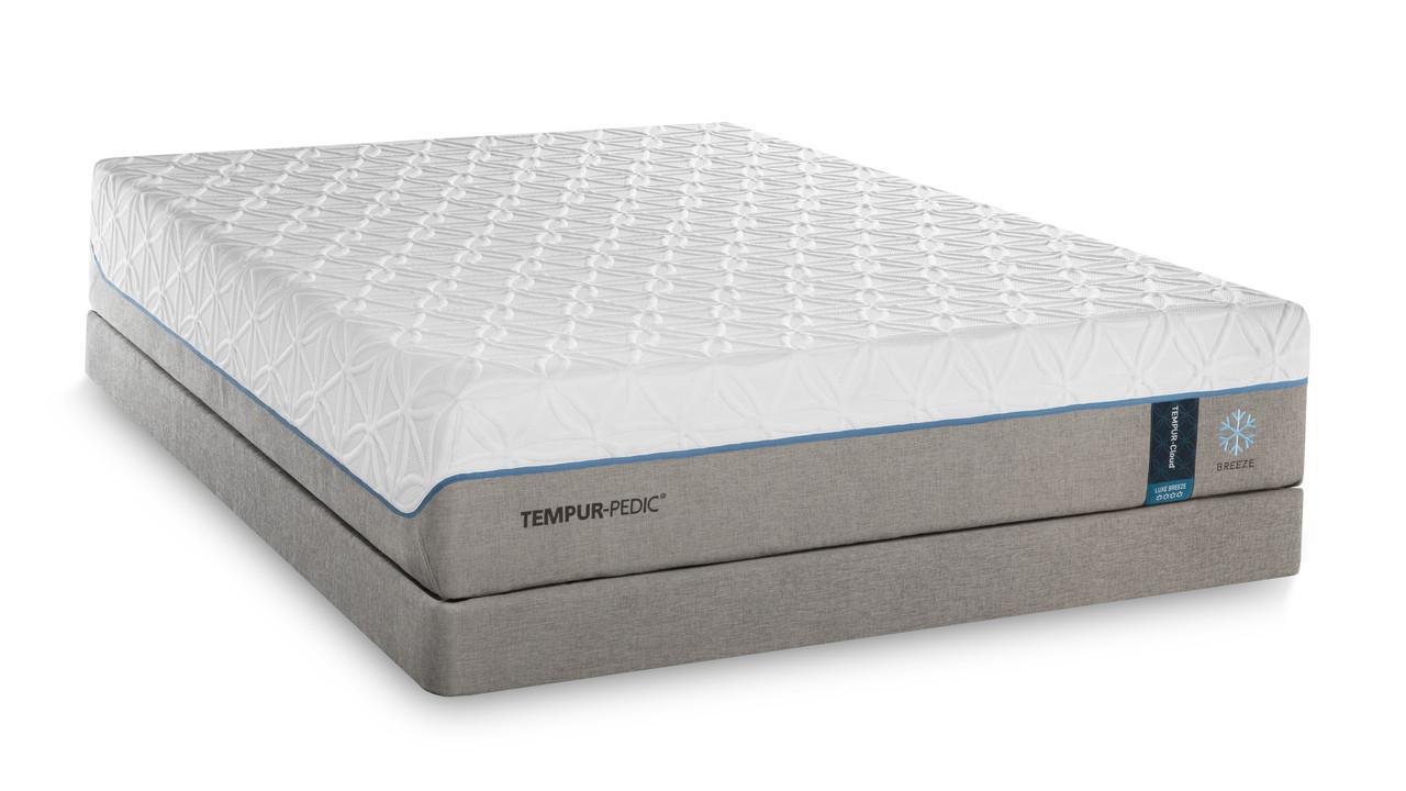 tempur pedic tempur cloud luxe breeze on sale. Black Bedroom Furniture Sets. Home Design Ideas