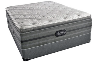 Simmons BeautyRest Black Lexi Luxury Firm Pillow Top