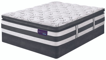 Serta iComfort Hybrid Advisor Pillow Top mattress for sale