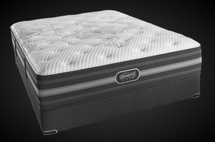 The all new Beautyrest Black Desiree Plush mattress available at Mattress By Appointment.