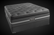 The all new Simmons BeautyRest Black Natasha Plush Pillow Top Mattress Set.