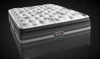 The all new top mattress BeautyRest Black Sonya Luxury Firm Pillow Top mattress set.