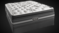 The all new Simmons BeautyRest Black Tatiana Ultra Plush Pillow Top mattress set.