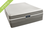 The ALL NEW Beautyrest Hybrid Lilian Luxury Firm Mattress Set.