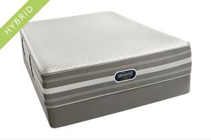 Find the BeautyRest Hybrid Reagan Ultimate Plush mattress set on sale.